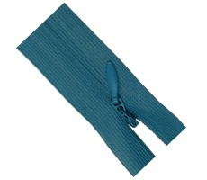Молния потайная 20см цвет 189 бирюзово-голубой