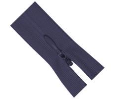 Молния потайная 20см цвет 321Д джинсовый