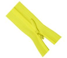 Молния потайная 35см цвет 110 желтый