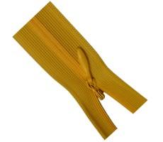 Молния потайная 35см цвет 111 желтый