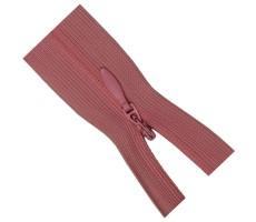 Молния потайная 35см цвет 137 темно-розовый