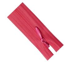 Молния потайная 35см цвет 146 темно-розовый