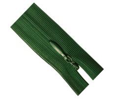 Молния потайная 35см цвет 153Д темно-зеленый