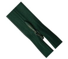 Молния потайная 35см цвет 530Д зеленый