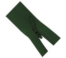 Молния потайная 35см цвет 869Д зеленый