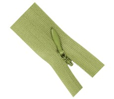 Молния потайная 50см цвет 125 серо-зеленый