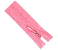 Молния потайная 50см цвет 138 розовый
