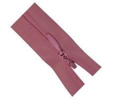 Молния потайная 50см цвет 140 розовый