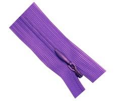 Молния потайная 50см цвет 204М фиолетовый