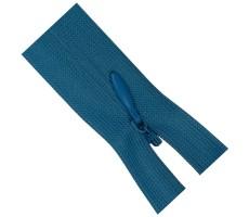 Молния потайная 50см цвет 208-1 ярко-голубой