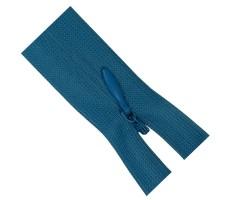 Молния потайная 50см цвет 208 ярко-голубой