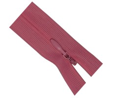 Молния потайная 50см цвет 221М розовый