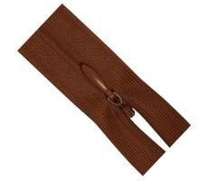 Молния потайная 50см цвет 288 коричневый