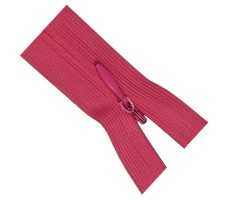 Молния потайная 50см цвет 337 темно-розовый
