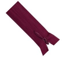 Молния потайная 55см цвет 143 пурпурный