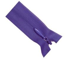 Молния потайная 55см цвет 175 пурпурный
