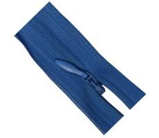 Молния потайная 55см цвет 212 ярко-синий