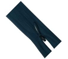 Молния потайная 55см цвет 224 сине-бирюзовый