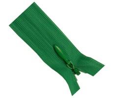 Молния потайная 55см цвет 242 зеленый
