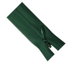 Молния потайная 55см цвет 270 зеленый