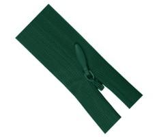 Молния потайная 55см цвет 830Д зеленый