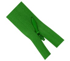 Молния потайная 60см цвет 150Д ярко-зеленый
