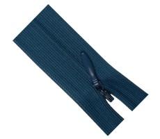 Молния потайная 60см цвет 211 сине-голубой
