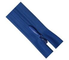 Молния потайная 60см цвет 213 ярко-синий