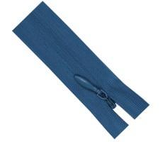 Молния потайная 60см цвет 215 темно-голубой