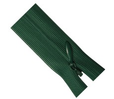 Молния потайная 60см цвет 270 зеленый