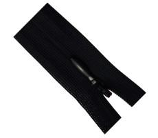 Молния потайная 60см цвет 580Д черный