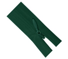 Молния потайная 60см цвет 830Д зеленый