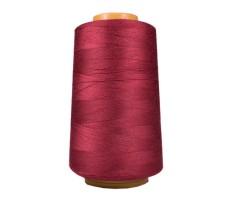 Нитки швейные Arta 100% п/э цвет 121 грязно-красный
