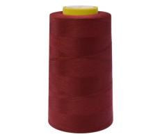 Нитки швейные Arta 100% п/э цвет 122 грязно-красный