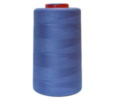 Нитки швейные MH 100% п/э цвет 1331 васильковый