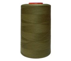 Нитки швейные MH 100% п/э цвет 1417 оливковый хаки