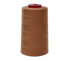 Нитки швейные MH 100% п/э цвет 1481 светло-коричневый