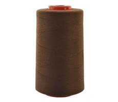 Нитки швейные MH 100% п/э цвет 1495 красно-коричневый