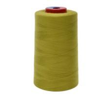 Нитки швейные MH 100% п/э цвет 1524 желто-зеленый