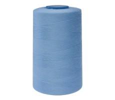 Нитки швейные Mega New 100% п/э цвет 282М голубой