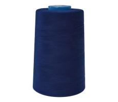 Нитки швейные Mega New 100% п/э цвет 297М темно-синий