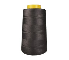 Нитки швейные Arta 100% п/э цвет 495 черно-коричневый