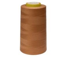 Нитки швейные Arta 100% п/э цвет 513 темный персик