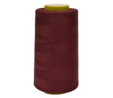Нитки швейные Arta 100% п/э цвет 562 бордовый