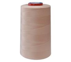 Нитки швейные MH 100% п/э цвет 1101 бледно-розовый