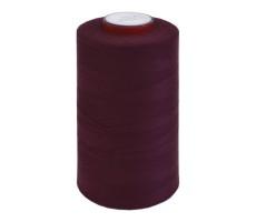 Нитки швейные MH 100% п/э цвет 1123 бордовый