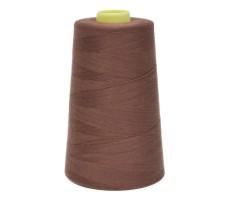 Нитки швейные 100% п/э цвет 1251-коричневый