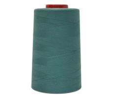 Нитки швейные MH 100% п/э цвет 1272 зелено-синий