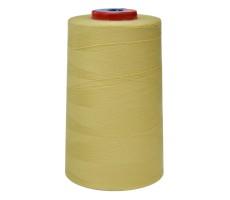 Нитки швейные MH 100% п/э цвет 1381 грязно-желтый