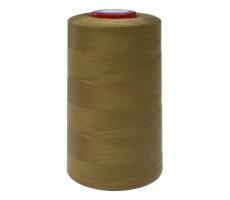 Нитки швейные MH 100% п/э цвет 1390 зелено-коричневый